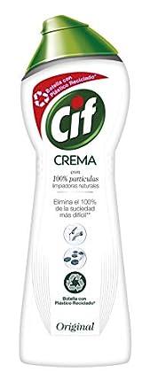CIF Crema Multisuperficies - Potente Limpiador con Exclusiva Fórmula de Micropartículas para el Baño y Cocina -750 ml