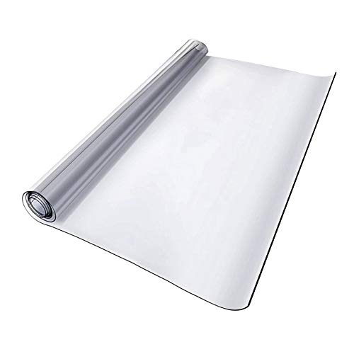 Fenteer Mantel de PVC Transparente Suave de 1/1,5 Mm, Impermeable, Resistente Al Aceite, Cubierta de Cocina Antirrayas, Puede Hacer Que Su Sea Más Herm - Claro, 1mm 0.4x0.6m, Individual