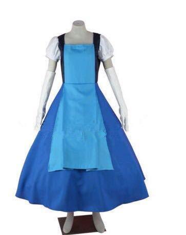 LJYNB Steven Universe vestido de cosplay Mujer Zafiro juego de rol vestido azul princesa vestido elegante de cualquier tamao M azul