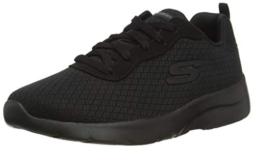 Skechers Damen Dynamight 2.0-Eye to Eye-12964 Sneaker, Schwarz (Black Bbk), 39 EU