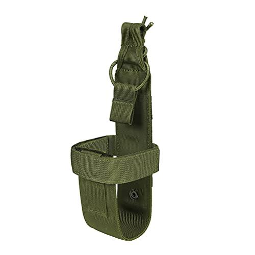 ABOOFAN Portabotellas Molle Simple Soporte para Botella de Agua Ligero para Exteriores Cinturón para hervidor de Agua para Juego CS Deporte al Aire Libre Camping (Estilo Verde)