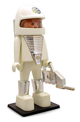 Figura de astronauta vintage, figura coleccionable pintada a mano
