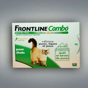 Frontline Combo - Chat - 6 Pipettes