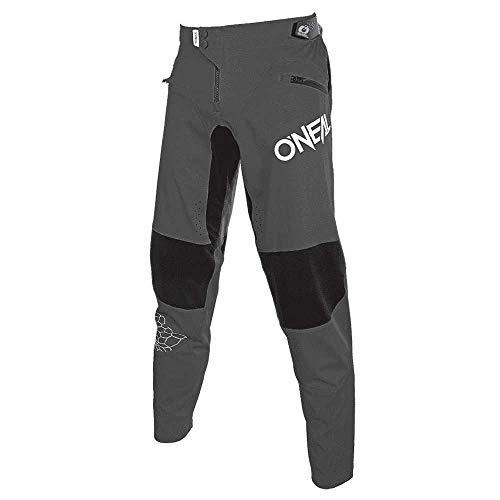 O'NEAL | Lange Mountainbike-Hose | MTB DH Downhill | Stretch-Material, schweißableitend, schnell trocknend | Legacy Pants für Herren | Erwachsene | Grau | Größe 38/54