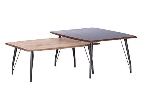Stylefurniture Couchtische Set, Holz, 42 cm