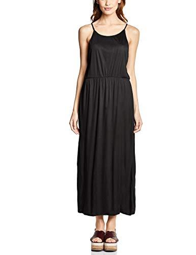 Street One Damen 142454 Kleid, Black, (Herstellergröße:36)
