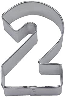R&M Number 2 Cookie Cutter in Durable, Economical, Tinplated Steel
