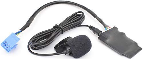 BlueMusic Interfaccia audio vivavoce Bluetooth compatibile con Alfa Romeo 147 156 159 Mito Giulietta Brera GT Spider - FIAT 500 Bravo Doblo Ducato Panda Punto Stilo Idea Croma Palio - LANCIA
