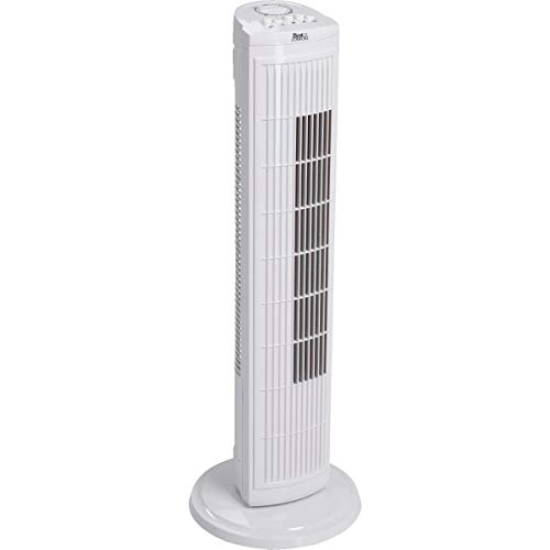 SIM SUPPLY Best Comfort 30 in. 3-Speed White Tower Fan - 1 Each