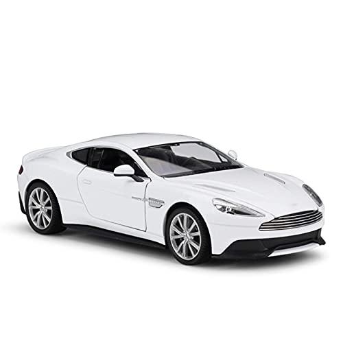 Modelos de Autos, 1:24 para Aston for Martin V12 para Vanquish Sports Car Simulation Aleación Automóvil Modelo Modelo Crafts Collection Herramientas Regalo para Niños Boys Girls Regalo, WQQWQQQ-8521