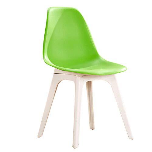 KELITINAus Silla plegable plegable Silla de comedor de metal amarillo acolchado Camping oficina moderno respaldo silla de escritorio, D, H