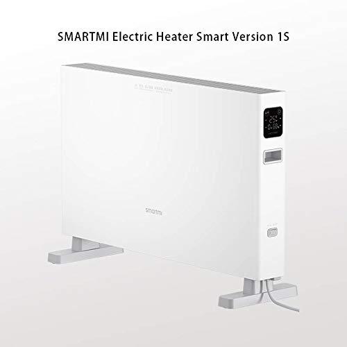 Handig voor thuis Elektrische Heater slimme versie 1S Fast handig kachels for thuis kamer Fast Convector haard fan muur warmer hjm jiadianshuma (Color : Smartmi Heater 1S)