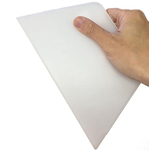[はがせるDIY壁紙シール + ハリーステッカー] のり付き 粘着付き 壁紙の施工に便利な スムーサー ( ヘラ)