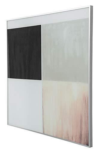 Fink Futura/Wandbild,4Fb,mit Glas,AluRahmen / 80x80cm