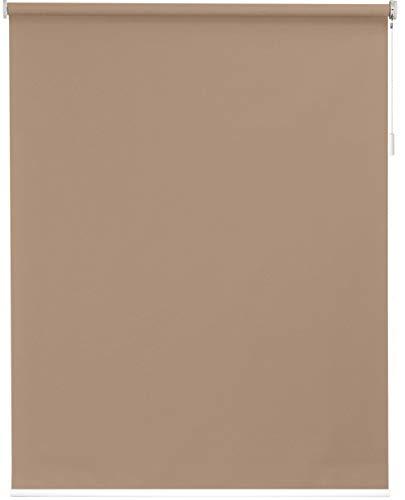 sunlines Akku-Rollo nach Maß, Polyester, Sand, Breite bis 110 cm x Höhe 180 cm