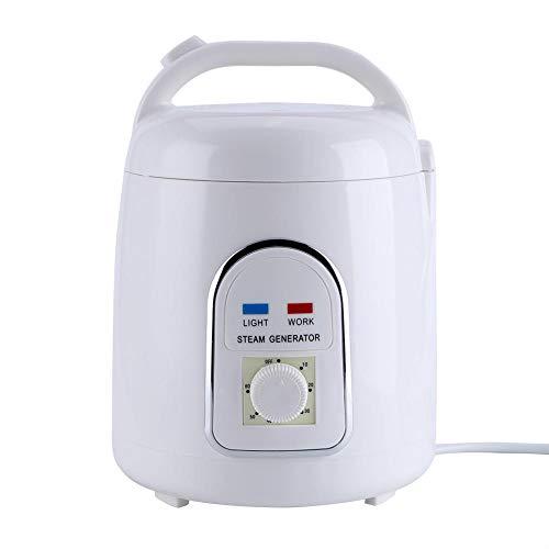 Yeelur Saunadampfer Topf, 1,5-1,8 l tragbare Spa Home Dampf Sauna Leichter Dampferzeuger für Spa-Dusche, Entspannung(220V European Standard)