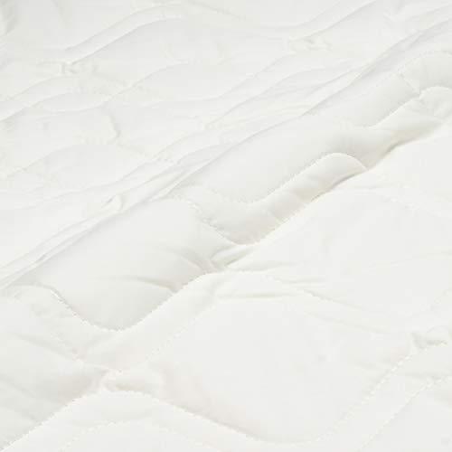東京西川ベッドパッドシングル洗える抗菌防臭四隅ゴム付き寝心地アップホワイトCM00047010W