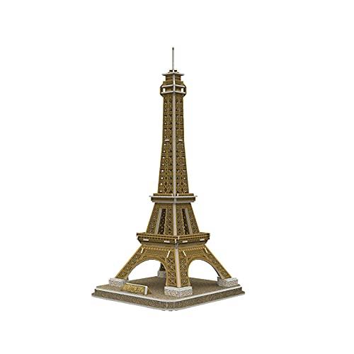 Rompecabezas tridimensional 3D Restore Pintura Modelo de construcción Puzzle Tower Puzzle Puzzle Puzzle Juguete Rompecabezas Educación Niños Entrenamiento Cerebro Pintura Desconcertante para Niños
