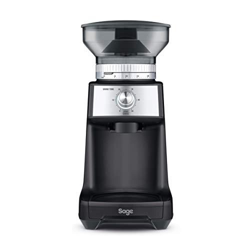 SAGE SCG600 the Dose Control Kaffeemühle für Press- oder Filterkaffee, Matt-Schwarz