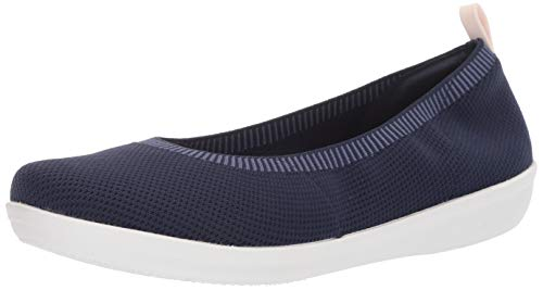 Price comparison product image Clarks Women's Ayla Paige Loafer Flat,  navy knit,  8.5 M US