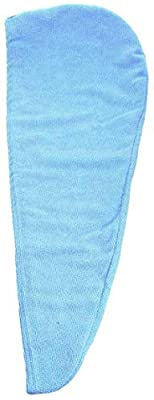 Ancjiape Safety Shower Fashion Strong Dry Wrap Cap Turban Towel Hair Casual Best Water(None blue)