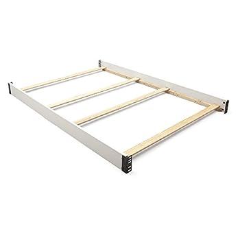 Delta Children Canton Full-Size Wood Bed Rails #0020 Bianca White