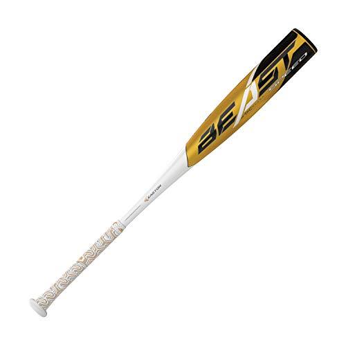 EASTON Beast Speed -11 (2 5/8') USA Youth Baseball Bat | 30 inch / 19 oz | 2019 | 1 Piece Aluminum | ATAC Alloy | Speed End Cap | Lizard Skin Grip, Multi (8065991)