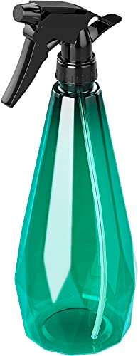 AOVUYCK 1L Pulverizador Agua PET Plástico, Botellas de Spray con 3 Modos (Niebla Fina, Corriente Sólido, Off), Contenedor Rellenable con Pulverizador Plantas para Limpieza, Jardinería, Plantas