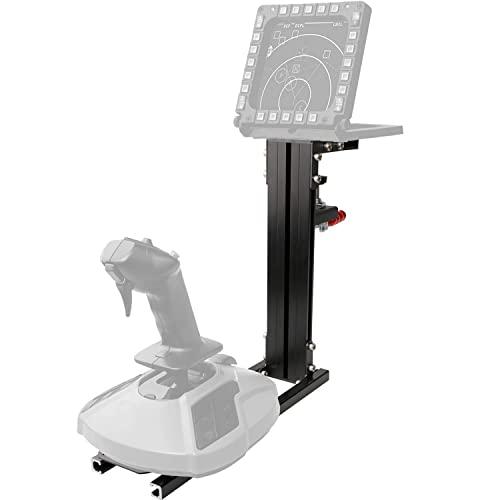 Hikig Tischhalterung für Flight Joystick, Flight Spielgeräte - Unterstützt Fast Alle Flight Spielgeräte (Kein Spielgerät)