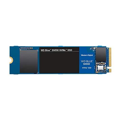 WD Blue SN550 250 GB SSD NVMe, Gen3 x 4 PCIe, M.2 2280, 3D NAND