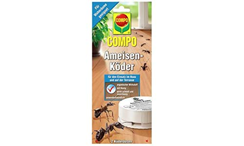 COMPO Ameisen-Köder, Köderdosen, Sie erhalten 1 Packung, Packungsinhalt: 2 Stück