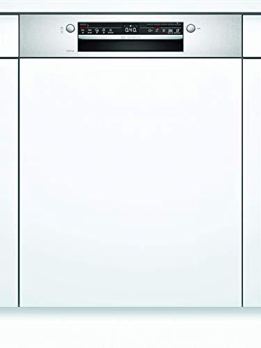 Bosch SMI2ITS33E Serie 2 Geschirrspüler Teilintegriert/A+ / 60 cm/Edelstahl / 290 kWh/Jahr / 12 MGD/Extra Trocknen/VarioBesteckkorb/Home Connect