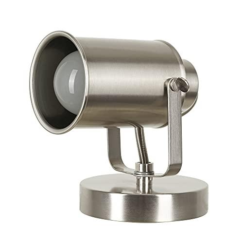 Catalina Lighting 18775-016 Modern Multipurpose Spotlight Desk or Wall Mount Accent Lamp, LED Bulb Included, 6
