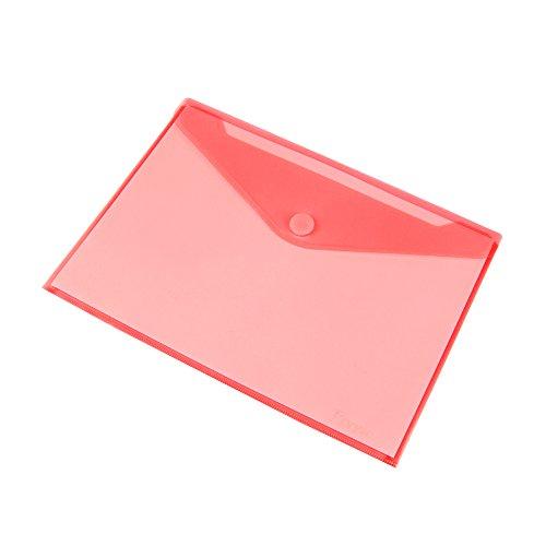 Pryse 4170073 - Sobre portadocumentos A5, color Rojo