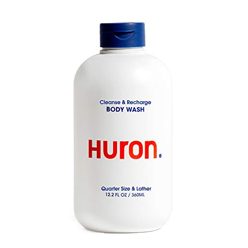 Huron - Men's Invigorating Body Wash. Skin conditioning lather refreshes deodorizes and nourishes. Energizing aromatic citrus scent with Menthol and Eucalytpus.