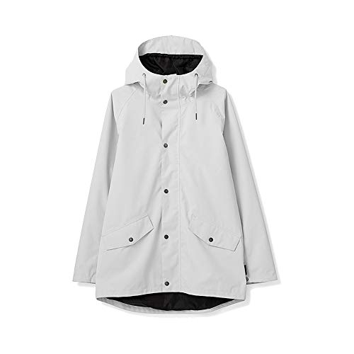 TRETORN Unisex Rainjacket Wings Woven Chalk White