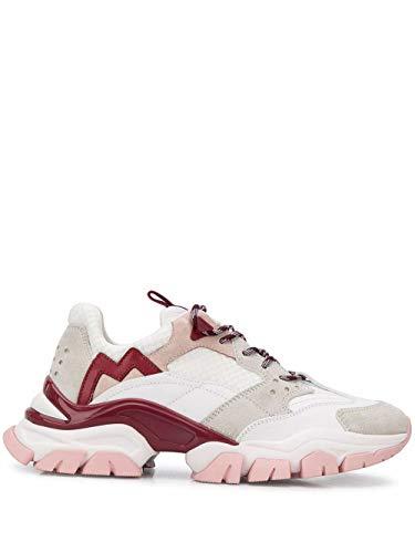 Moncler Luxury Fashion Damen 4M7084002S7G005 Rosa Leder Sneakers | Frühling Sommer 20