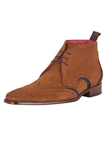 Jeffery West de los Hombres Scarface Zapatos, marrón