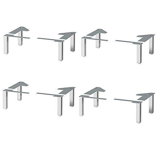 IKEA Lillangen - Patas de acero inoxidable para armarios de baño con...