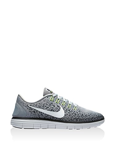 Nike Free RN Distance, Zapatillas de Running para Hombre, Gris (Wolf Grey/Off White-Cool Grey-Black), 48 1/2 EU