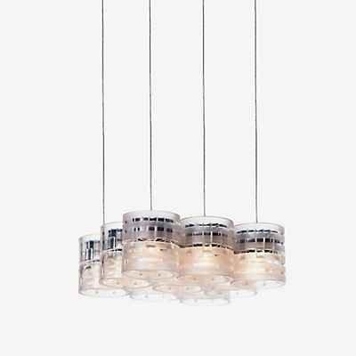 Steng Licht Combilight Pendelleuchte 9-flammig, transparent
