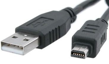 High Grade - USB Cable for Olympus Digital Cameras - USB Cable CB-USB5/CB-USB6 - Works with Olympus by Master Cables