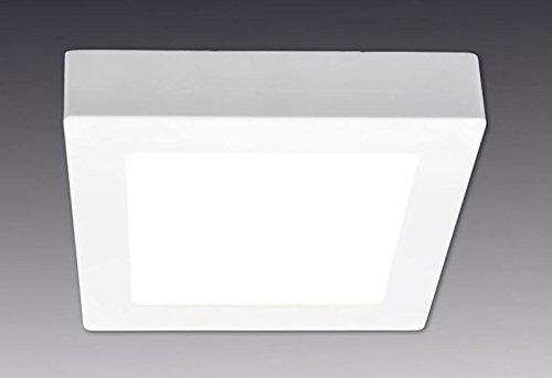 Näve 1210926 Panneau LED encastrable carré Blanc 12 W 1000 lm