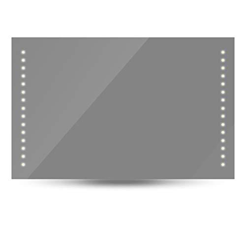 binzhoueushopping badkamerspiegel 100 x 60 cm (L x H) met LED-verlichting spiegel groot decoratief spiegel set