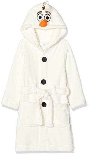 NAME IT Baby-Jungen NMMOLAF Gentry Bathrobe WDI Bademantel, Weiß (Snow White Snow White), (Herstellergröße: 98)