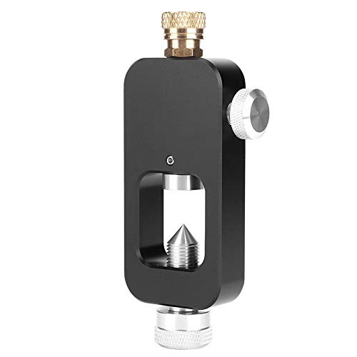 Weikeya Adaptador de recarga de tanque de buceo, kit de conector de estación antioxidante cilindro de oxígeno hecho de aleación de aluminio de calidad para equipos de buceo de cilindro de oxígeno