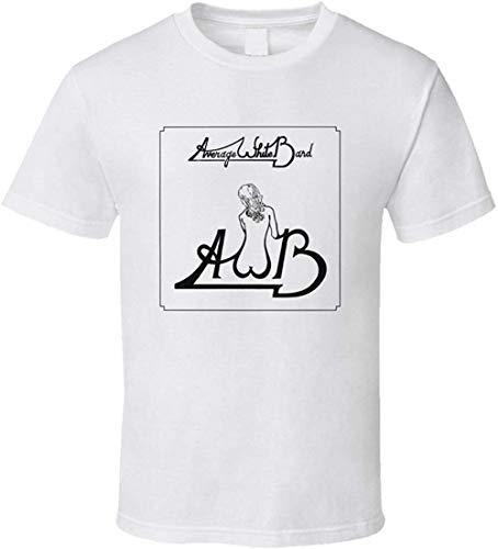 Average White Band AWB t-Shirt Retro R&B Soul Funk,White,Large
