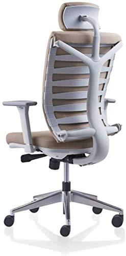 LIUBINGER Drehbarer Bürostuhl High Back Mesh-Büro-Schreibtisch-Stuhl, Ergonomischer Bürostuhl, Computer-Arbeitsstuhl Verstellbare Kopfstütze/Nackenstütze, Home Office