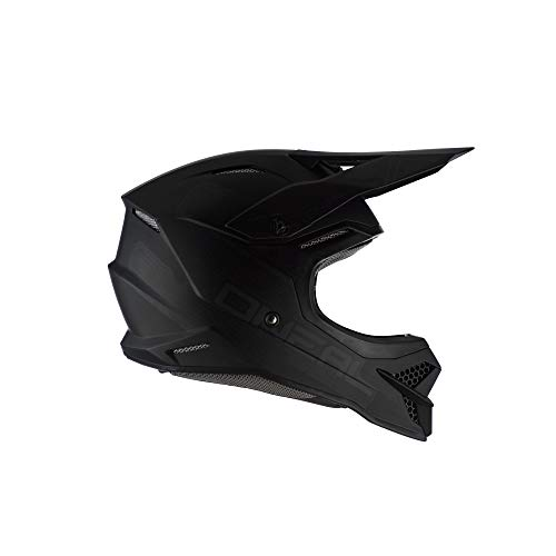 O\'NEAL 3 Series Flat 2.0 Motocross Enduro MTB Helm schwarz 2020 Oneal: Größe: L (59-60cm)