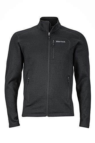 Marmot Herren Fleecejacke Outdoorjacke, Atmungsaktiv Drop Line, Black, S, 83900